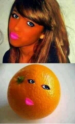 maquillage-teint-orange