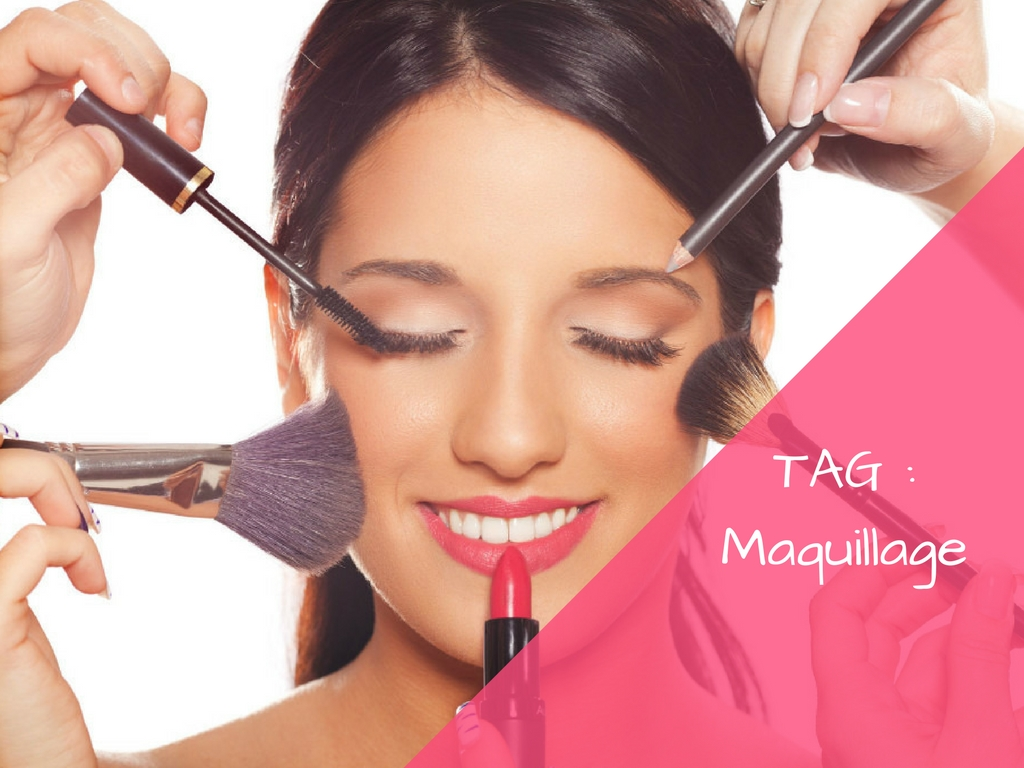 TAG: Les 10 questions maquillage