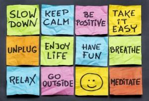 Stress vie saine
