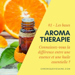 L'aromathérapie : Les bases #1