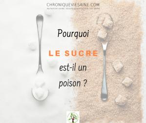 Pourquoi le sucre est-il un poison ?