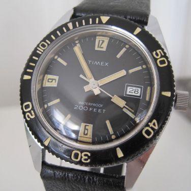 TIMEX, montre de plongée. Crédit : ND.