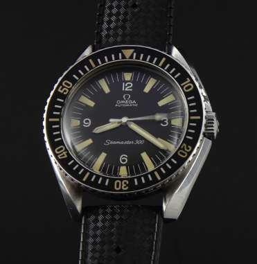 OMEGA Seamaster 300, réf. 165.024. Crédit : ND.