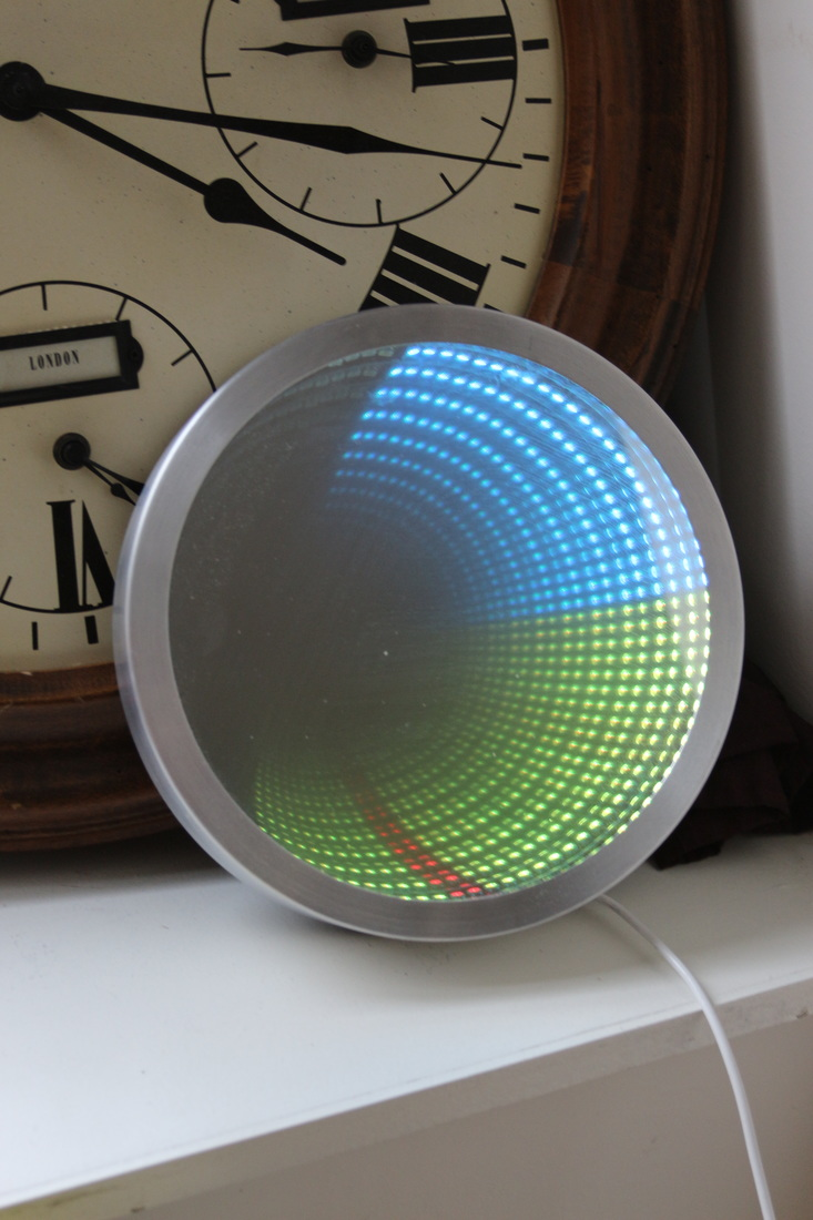 infinity mirror clock chronology