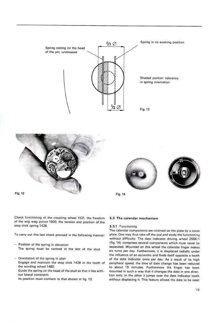 Heuer Micro-Rotor Service Manual