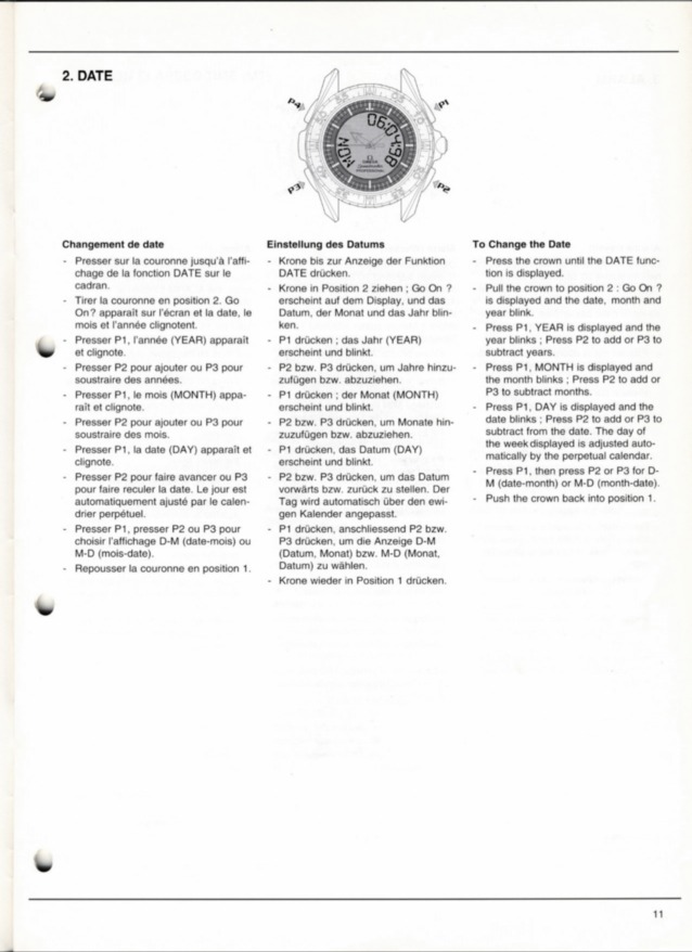 Omega Calibre 1666 Service Manual
