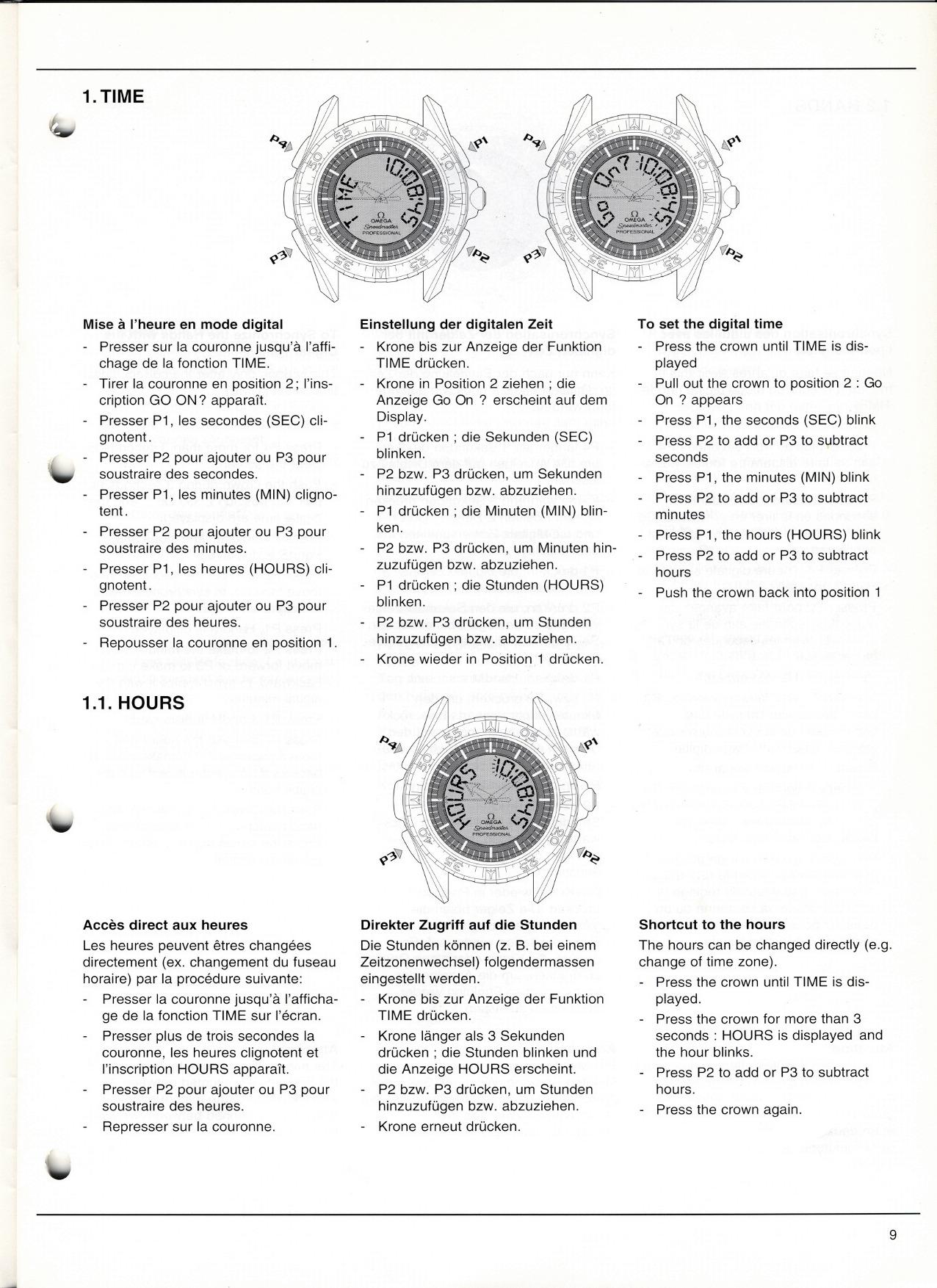 Omega Calibre 1666 Service Manual