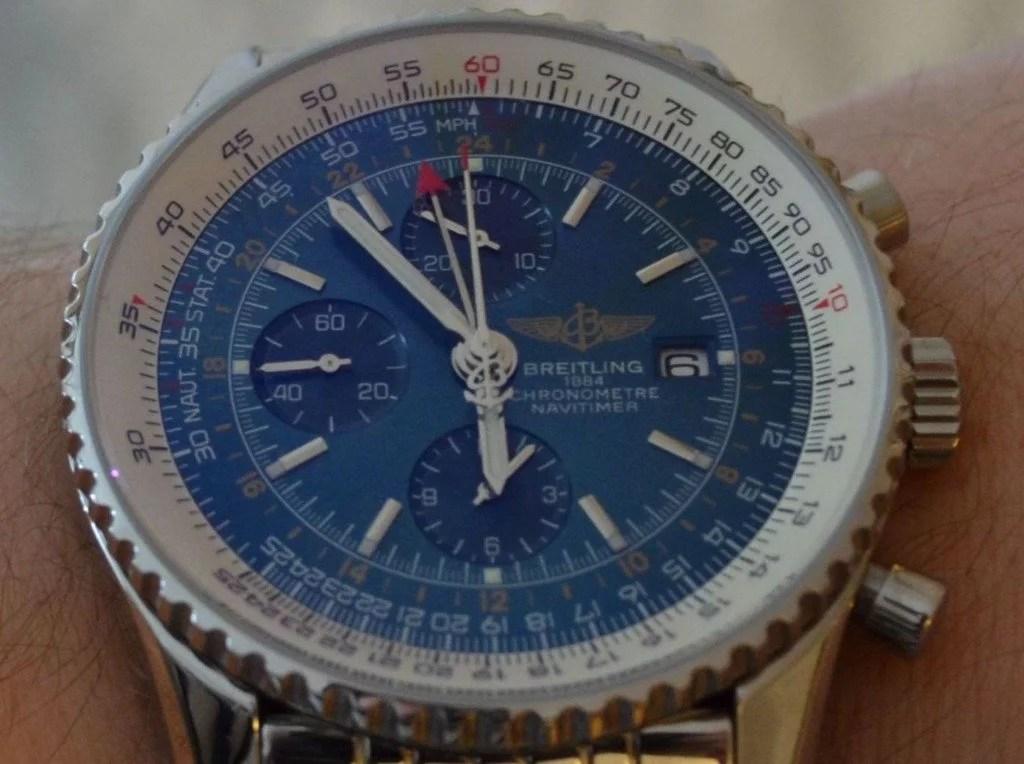 Replica-Uhren erkennen: Erfahrungen mit der Breitling Navitimer