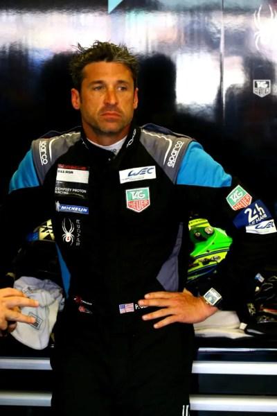 Dempsey-Proton Racing, Porsche 911 RSR LMGTE-Am N¡77, Patrick Dempsey (USA). Circuit des 24 Heures.