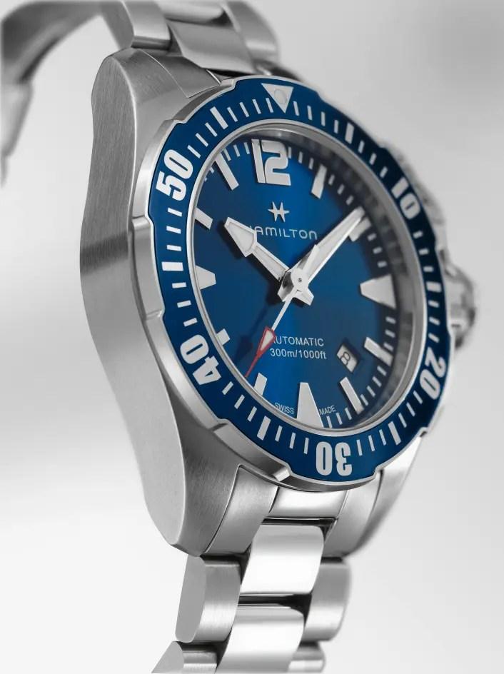 Hamilton Khaki Navy Frogman H77705145_blau