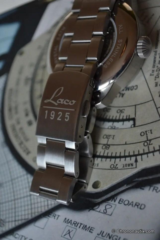 Laco Faro B-Muster Beobachtungsuhr Fliegeruhr Pilotenuhr 2. WK Schließe