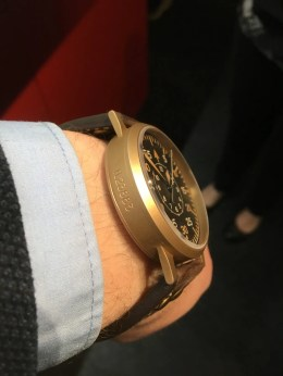 Laco Bronze Beobachtungsuhr 45mm Muster