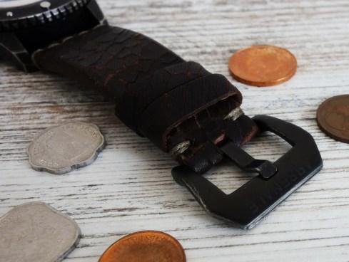 Meccaniche Veneziane Arsenale Handmade in Italy Vintage Leather Strap Lederband 5