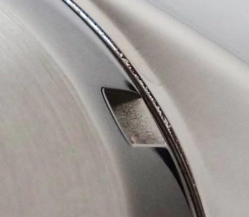 Schmutz Ablagerung Gehäuse Uhr Boden Seiko