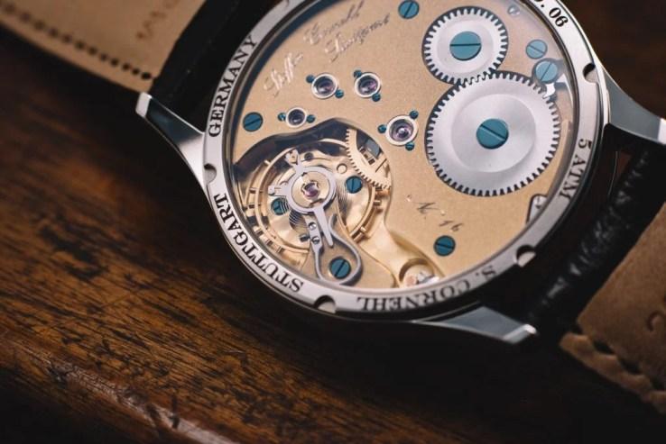 Stuttgarter Uhren Hersteller Cornehl