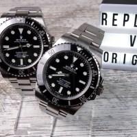 Gefälschte Rolex Submariner erkennen: Replica vs. Original im Vergleich