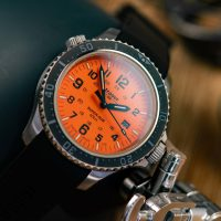 traser P67 SuperSub (T25): Tritium-Taucheruhr im Test - orange is the new black?