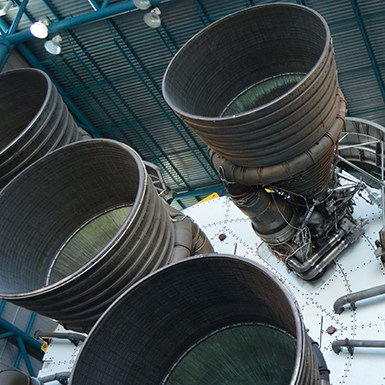 Saturn V F1 Engines