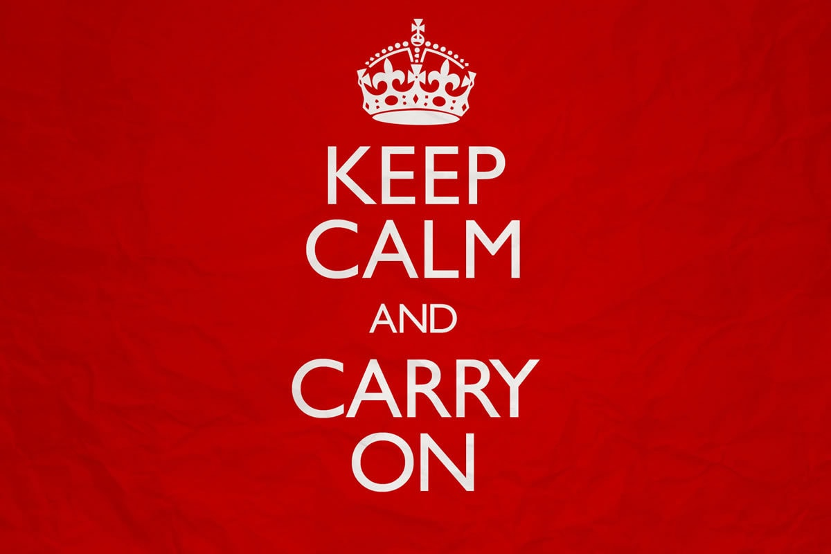 Keep Calm Series