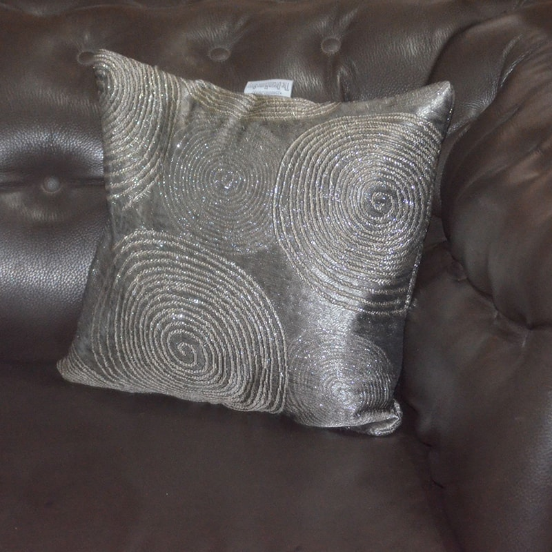 Silver 2 throw pillow Chronos stores dreamhome shop seller