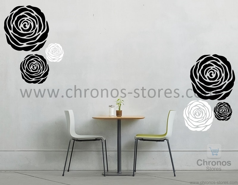 floral rose wall decal designs chronos stores