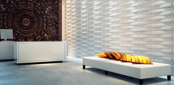 Bladet. 3D Wall Panel sold by Demie-Quest