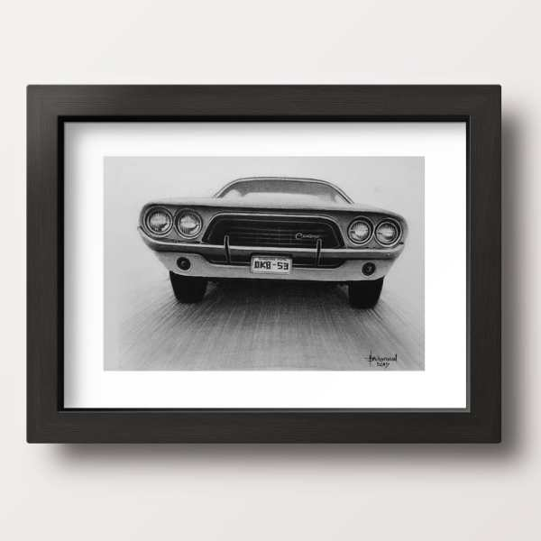 buy painting hyper realistic car chronos stores frame