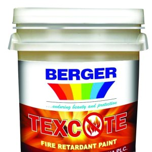 Texcote: fire retardant paint