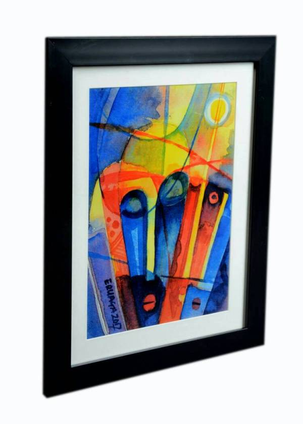 ERUAGA (ABSTRACT III) (FRAMED 3) W