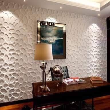Crackle 3D wallpanel