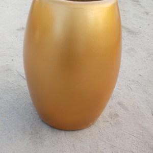 buy gold flower pot - Big flower pot for interior decoration