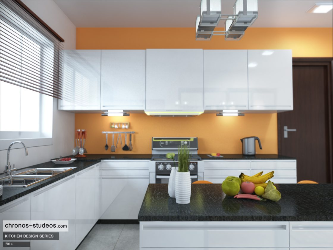 Your Home Interior Ideas Crisp White High Gloss Kitchen