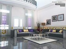 Living Room Interior Design in Nigeria