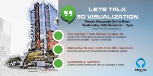 Google Hangouts: Let's Talk 3D Visualization 2015