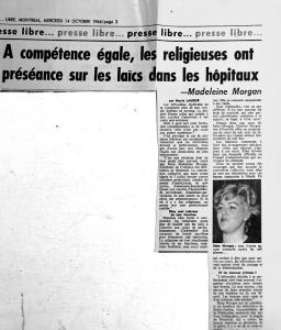 Presse Libre, Montréal, 14 octobre 1964, p.3