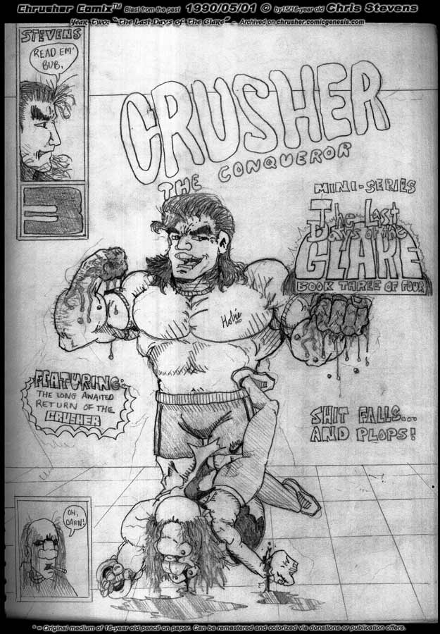 Last DaYz Of The Glare III: Crusher's Back! (1990)