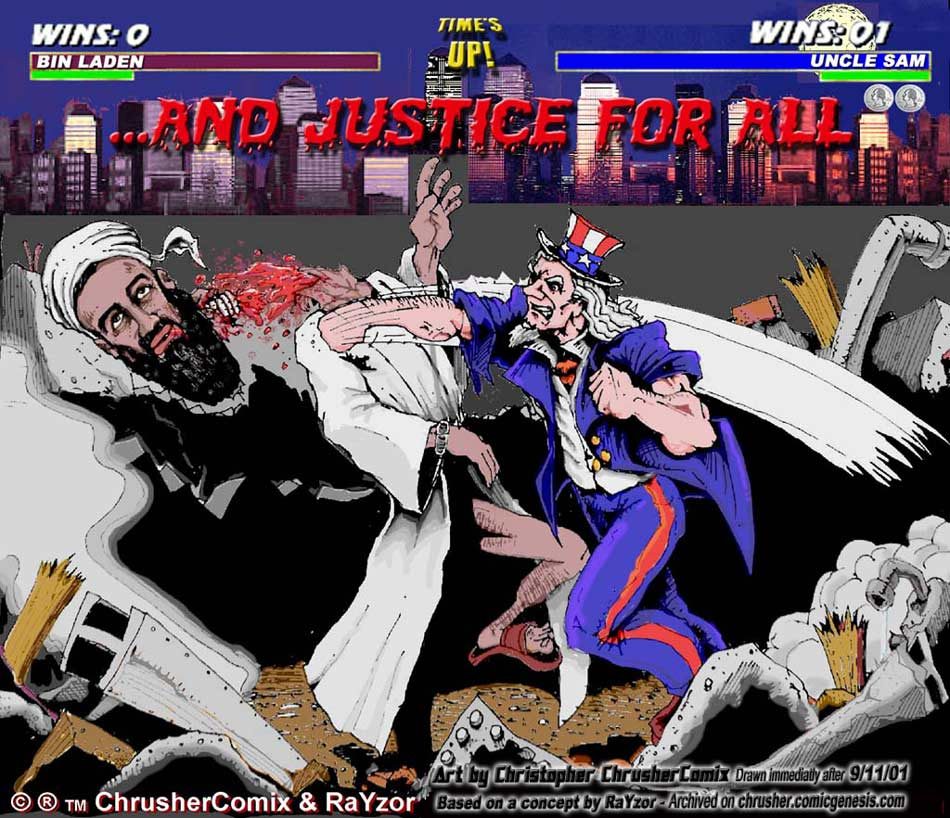 """Memorial For 9/11/2001 """"…and Justice For All!"""" 