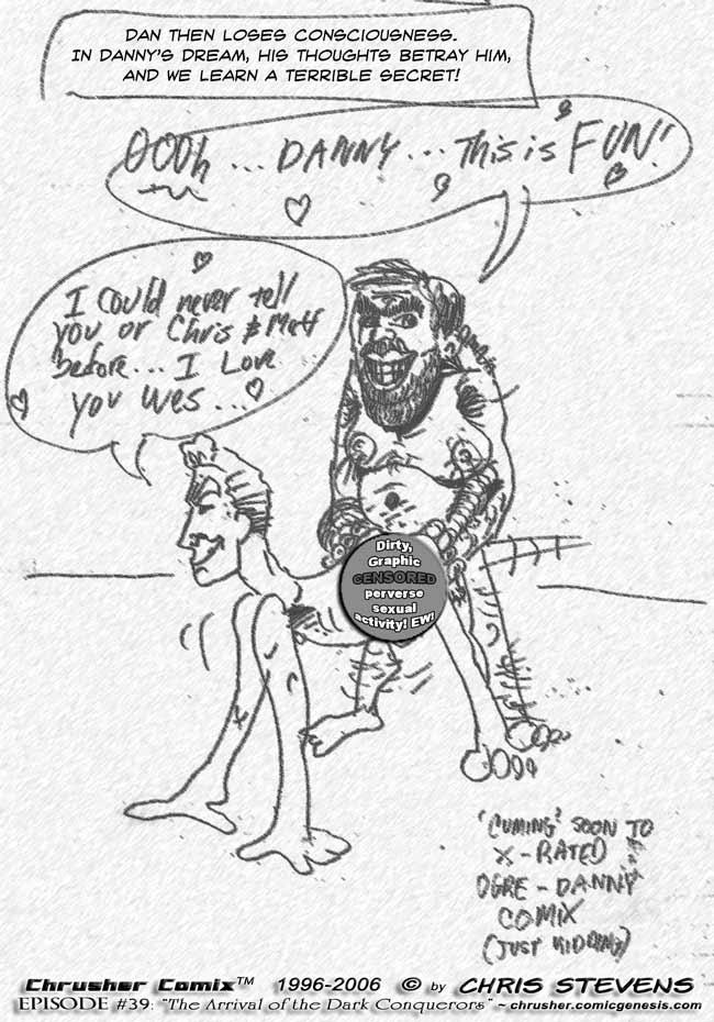 Dan's Drugged Dream   The 10-Minute Quickie Crusher Comics (1996)