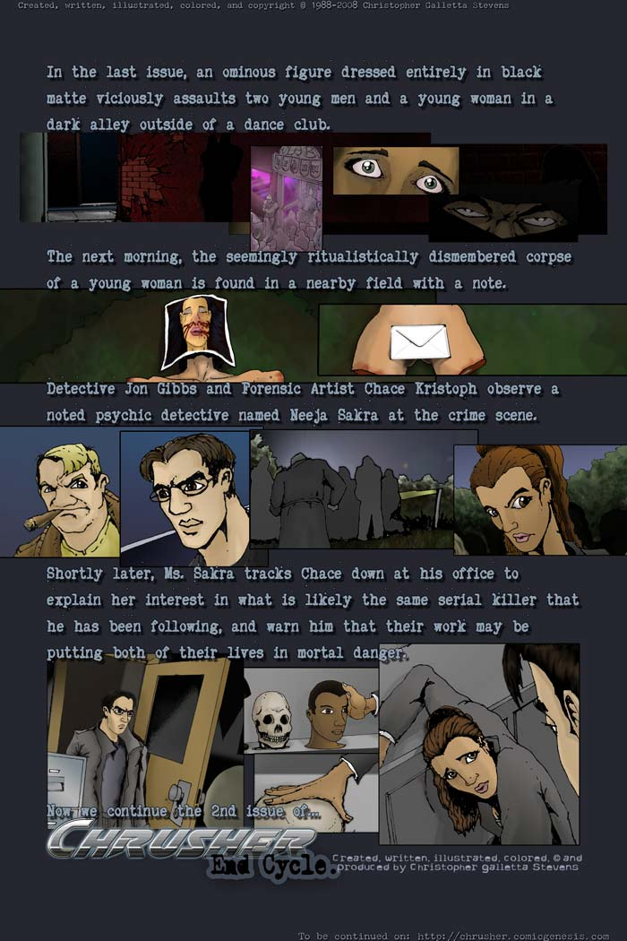 End Cycle #1 recap | End Cycle #2, Page 2 (2008-09-10)