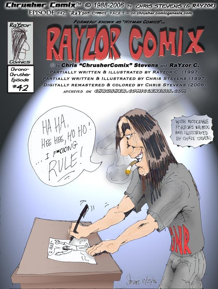 RaYzor's Edge Comics #1   cover (1997-06-01)