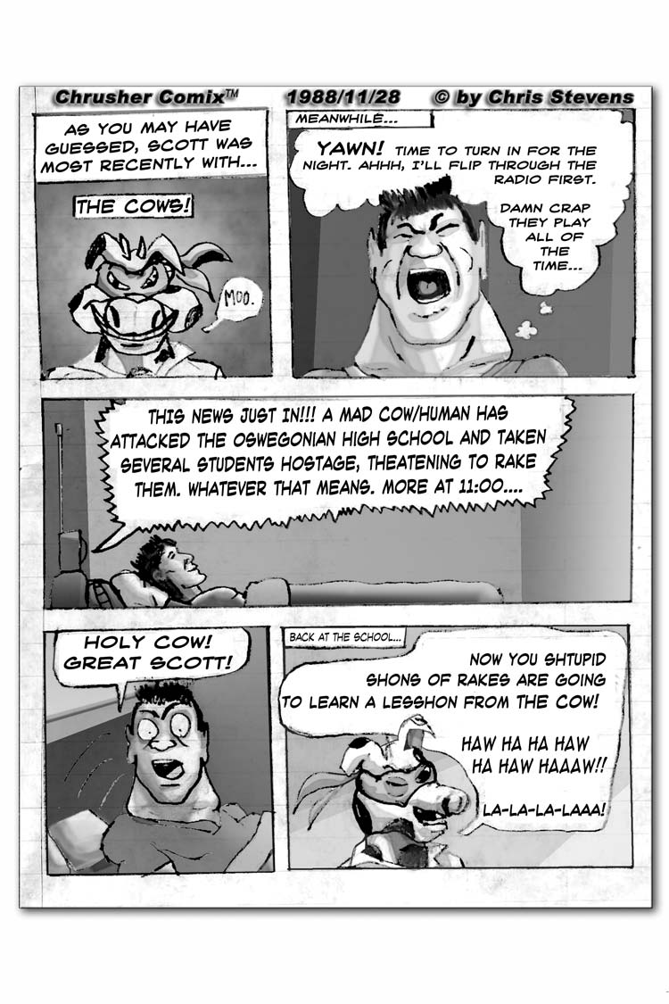 """""""Holy Cow! Great Scott!"""" …Takes Hostages at Oswegonia High School! 