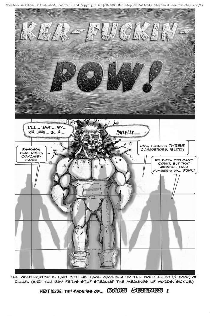 DOUBLE FIST OF DOOM! | Crusher Comics #3 (1988)