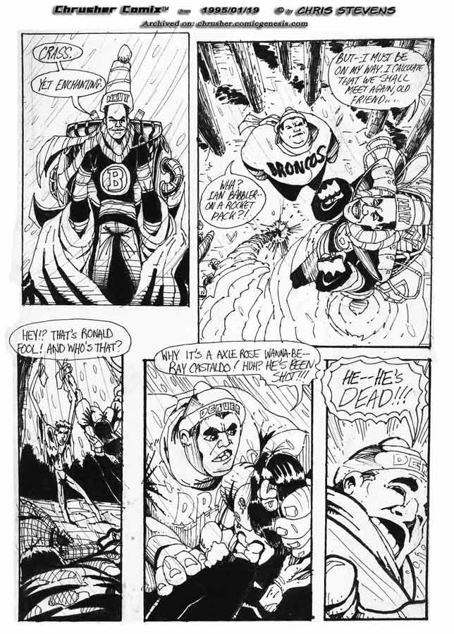 """Crass. Yet enchanting."" | Crusher, The Return of… #1"