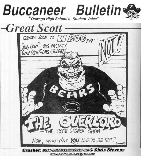 Buccaneer Bulletin Series Cow On WBUC
