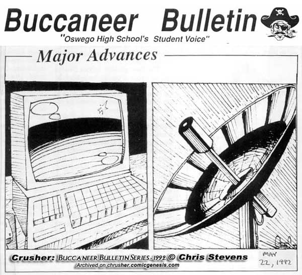 Buccaneer Bulletin Series 1992 Technology Crossroads