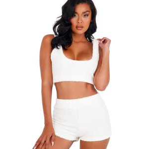 Roma 2pc-cozy-comfy-fuzzy-short-set