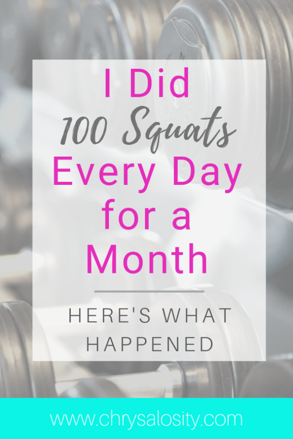 I Did 100 Squats Every Day for a Month. Here's What Happened.