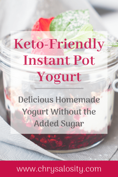 Instant Pot Yogurt Pinterest Image