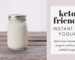 Keto-Friendly Instant Pot Yogurt