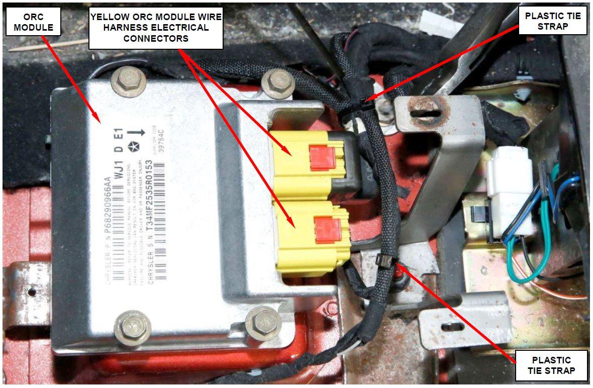 Dodge Ram Overhead Console 2004 Wire Harness